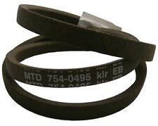 Lawnflite MTD 404 RideOn tosaerba Deck Belt 754-0495 ** Cintura originale **