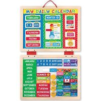 Melissa and Doug My Daily Magnetic Kids Children's Calendar