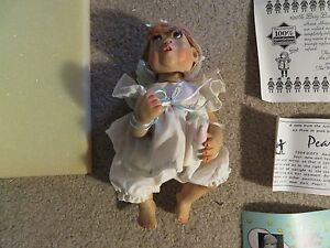 Mommy's Little Angel Doll By Pat Kolesar Pearl With Box See My Store