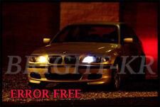 BMW E46 3 Series BRIGHT XENON WHITE Side Light 8SMD Upgrade LED Bulbs ERROR FREE