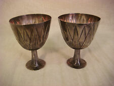 Sterling Goblets Chalice Mma Metropolitan Museum Art Egypt Cup 1986 Silver