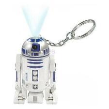 Star Wars: Oficial LUCASFILM r2-d2 Llavero linterna con LED BLANCO - Nuevo en