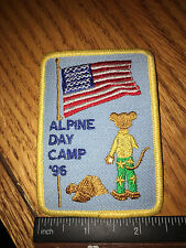 Girl Scout Patch - Alpine Day Camp '96 - New - Qty 1