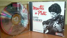 MANITAS DE PLATA - Gypsy Flamenco  (Vanguard Classics Records) (Rare CD)