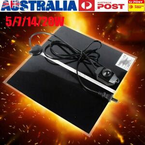 AU Electric Adjustable Heat Reptile Lizard Heating Mat Warmer Blanket 0-35째C
