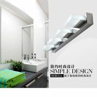 2-4 Lights Modern Bathroom Toilet Vanity Wall Makeup Light Mirror Front LED Lamp