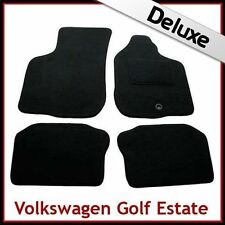 Volkswagen VW Golf Mk3 1991-1997 Tailored LUXURY 1300g Carpet Mats BLACK