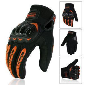 Men's Motorcycle Gloves Touch Screen Anti-Slip Anti-Collision Motorcycle Gloves