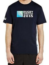 Men's Official Rugby World Cup 2015 Logo T-Shirt by Canterbury - Navy M BNWT
