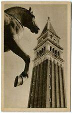 1948 Venezia - Campanile S. Marco Cavallo bronzo, timbro polizza - FP B/N VG