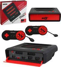 Retro-bit Super Retro Trio 3 in 1 Konsole NES, SNES, GENESIS + 2 Controller NEU