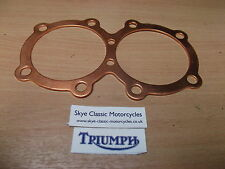 triumph t1140 750cc copper head gasket thick 80 thou