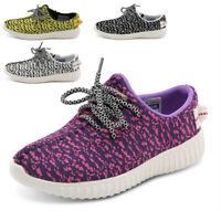 Girls Boys School Shoes Mesh Comfort Sneakers Kids Summer Trainers Size