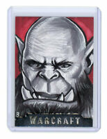 2016 Topps World of Warcraft WoW Sketch Card by Ashleigh Popplewell