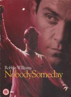Robbie Williams Nobody Someday (2002) DVD Nuovo / Sigillato Take Che