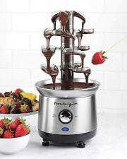 Chocolate Fondue Máquina De Fuente Eléctrico Para Cocinar Dulce Hogar Fiesta New