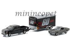GREENLIGHT 51008 GONE IN 60 SECONDS 2015 FORD F150 1967 MUSTANG ELEANOR 1/64 SET