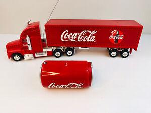 Vintage Coca-Cola Collectable Semi Truck Radio Control 90s