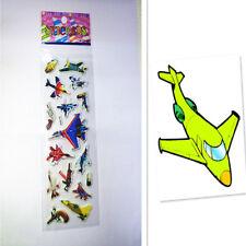 Airplane Sticker Kids Party Handmade Lot Craft Scrapbooking Paper Teacher Reward