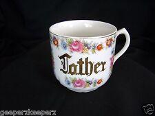 FATHER Jumbo Porcelain Coffee MUG 1945-52 UCAGO  Vintage Occupied Japan