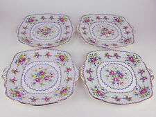 4 x Cake Serving Plates Royal Albert PETIT POINT England (reduced)