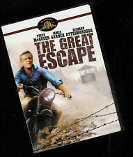 The Great Escape (Dvd) Steve McQueen disc= Very Good to Fine/ case Nmt