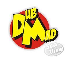 DUB MAD Auto Furgone Adesivo Decalcomania divertente adesivi pericolo mouse Jdm Vw Euro