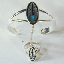 WINGS HEART SLAVE BRACELET  jewelry women braclet #11