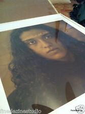 """Luis Gonzalez Palma: 32x32 INCH Photogravure  """"Arrancame El Miedo"""""""