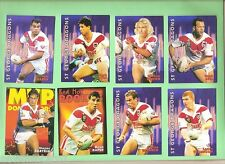 1997  RUGBY LEAGUE CARDS - ST GEORGE DRAGONS