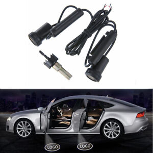 2X LED Door Welcome Light Logo Welcome Laser Projector Shadow Lamp For BMW Ford