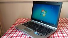 HP Elitebook 2560P Laptop Core i5 2.3Ghz 4GB 320GB Webcam Windows 7 Office AVG
