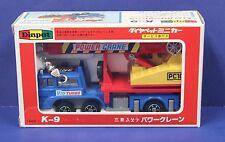 Diapet Yonezawa K-9 Mitsubishi Fuso Power Crane Truck 1:60 MIB Diecast Japan 80s