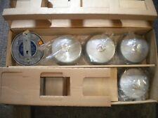 Vintage Lot Of 5 New EMDEKO Model 115 Fire Alarm Device Siren Bell Wind Up NOS