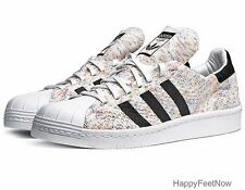 ADIDAS ORIGINALS SUPERSTAR 80s PRIMEKNIT MENS SHOES SIZE 10.5 MULTI COLOR S75845