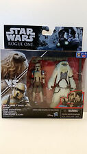 Star Wars Rogue One Moroff and Scarif Stormtrooper Squad Leader MIB 2016