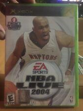 Brand New!!! Mint!!! NBA Live 2004 (Microsoft Xbox, 2003) Factory Sealed!!!