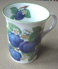 Crown Trent China Staffordshire England Plum Coffee Tea Mug