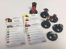 DC HeroClix- Superman Villains LOT of 6 HX116