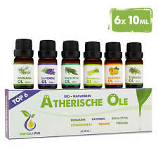 Ätherische Öle Set - Duftöle für Diffuser - Aromaöl Raumduft - bio & natur rein