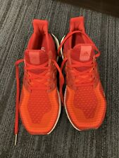 Adidas ULTRABOOST 4.0 Solar Red / Power Red / Core Black US Size 8