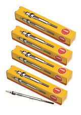 NGK GLOW PLUGS x 4 FORD COURIER 2.5L WLT PG PH PD PE