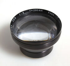KOWA 200MM F/4 FRONT ELEMENTS ONLY NO BODY MOUNT AS IS