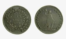 076) Napoli Repubblica Napoletana 1799 Mezza Piastra Carlini 6