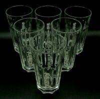 6 Granini Jumbo Gläser 0,5l Saftglas Stapelglas Cocktailglas Gastro Bar Deko NEU