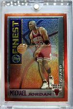 1996 96 TOPPS FINEST MYSTERY FINEST Michael Jordan # M1, Rare Premium MJ, Sharp!