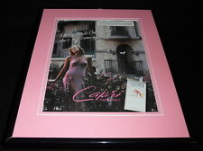 1995 Capri Superslims Cigarettes Framed 11x14 ORIGINAL Vintage Advertisement