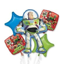 Disney Toy Story Birthday Party Favor Supplies 5CT Foil Balloons Bouquet