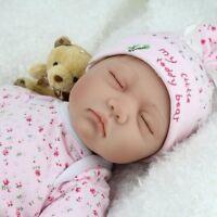 Collectable Popular Reborn Baby Doll Sleeping Newborn Doll Girl Boy handmade gif