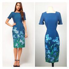 ASOS Wiggle Blue Irius Cotton Dress. Cotton. Size 6